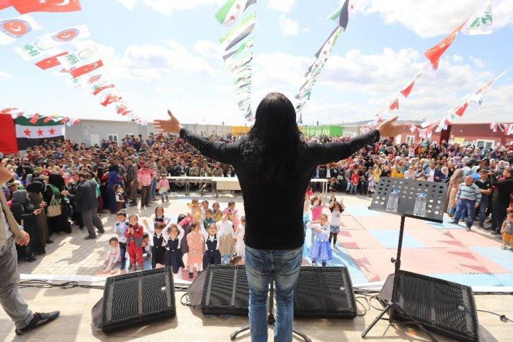 Murat Kekilli'den zor koşullarda yaşayan çocuklara konser
