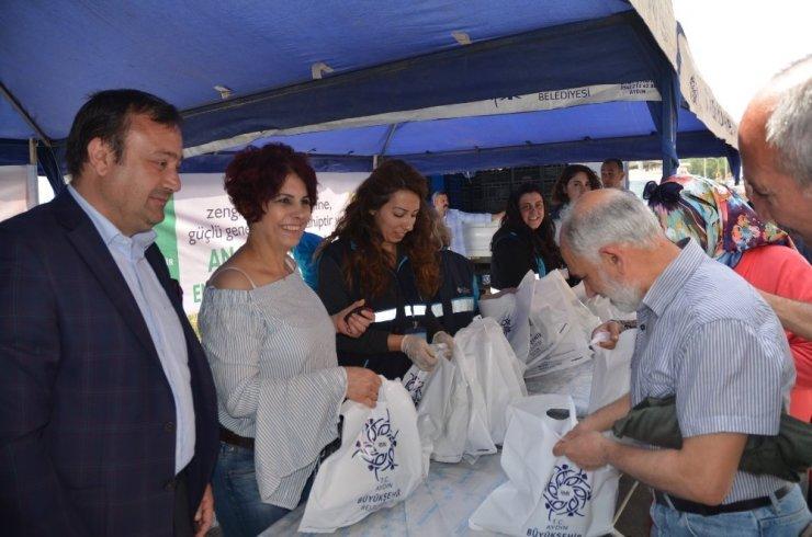 Aydın Büyükşehir Belediyesi'nden fide